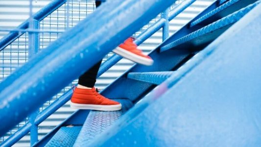 Jogging up steps to financial freedom